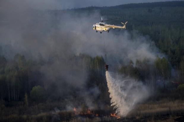 Çernobil yakınlarındaki yangınla gelen radyasyon tehlikesi: 'Bölgeyi boşaltmak gerekiyor'