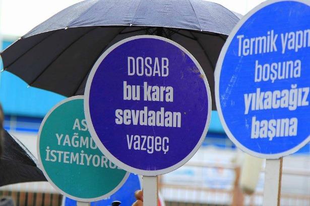 Bursa'da kurulmak istenen termik santrale karşı on bin imza