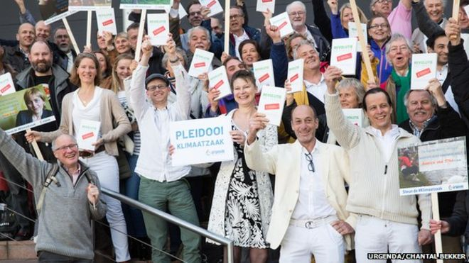 Hollanda Hükümeti, iklim değişikliği nedeniyle davalık!