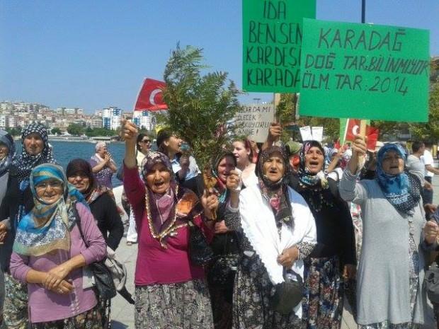 Kadınlar direndi, altıncı şirket Karadağ'ı terketti