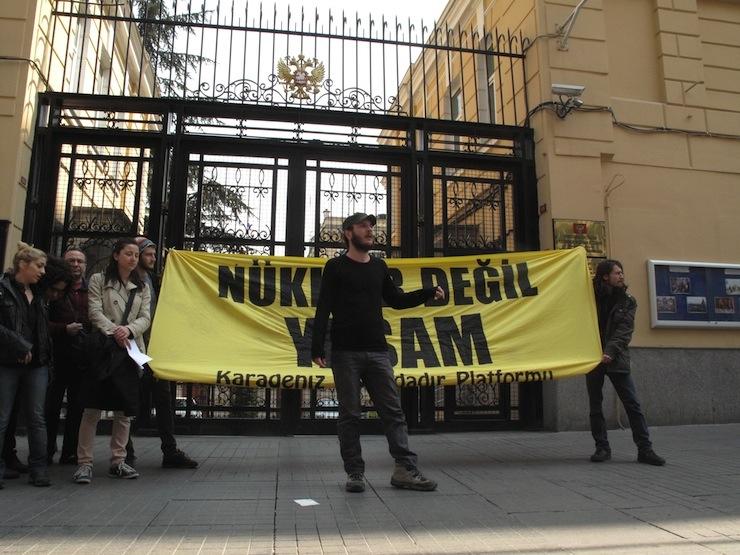 Akkuyu'ya isyan: Bu topraklarda bir kere öldük, bir daha ölmeyeceğiz