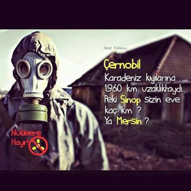 22 Nisan Galatasaray'da Nükleere Karşı Sofra