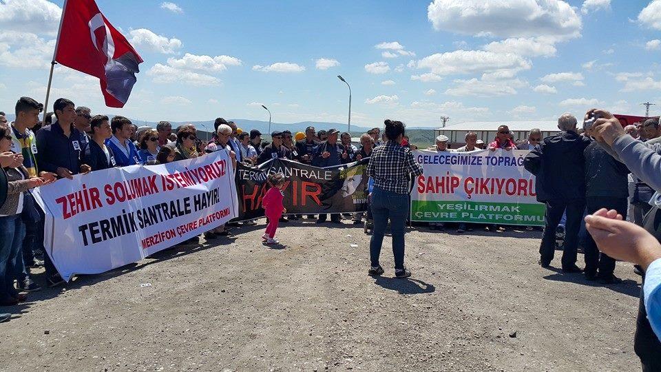 Amasyalılar da termik istemiyor