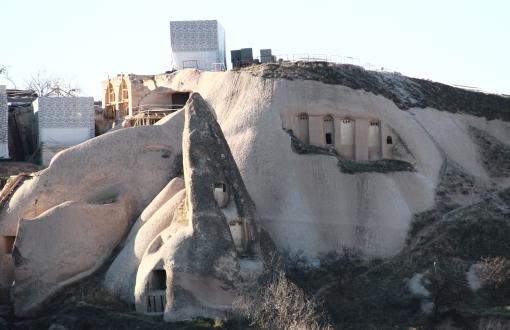 Nevşehir'de Silueti Bozan Otele Danıştay'dan Geçit Yok