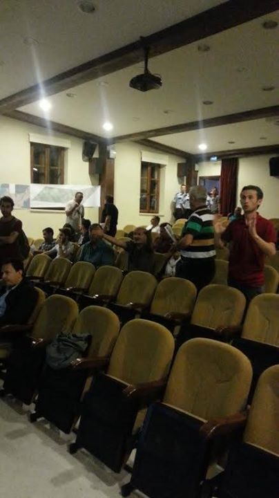 Gelibolu-Lapseki köprüsünün ÇED toplantısı halk tepkisiyle yapılamadı