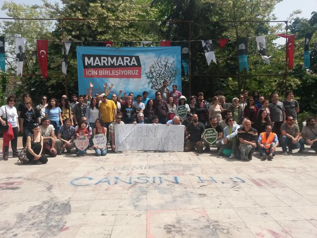 'Yaşam savunmamızın büyümesi için, Marmara için bir adım daha!'