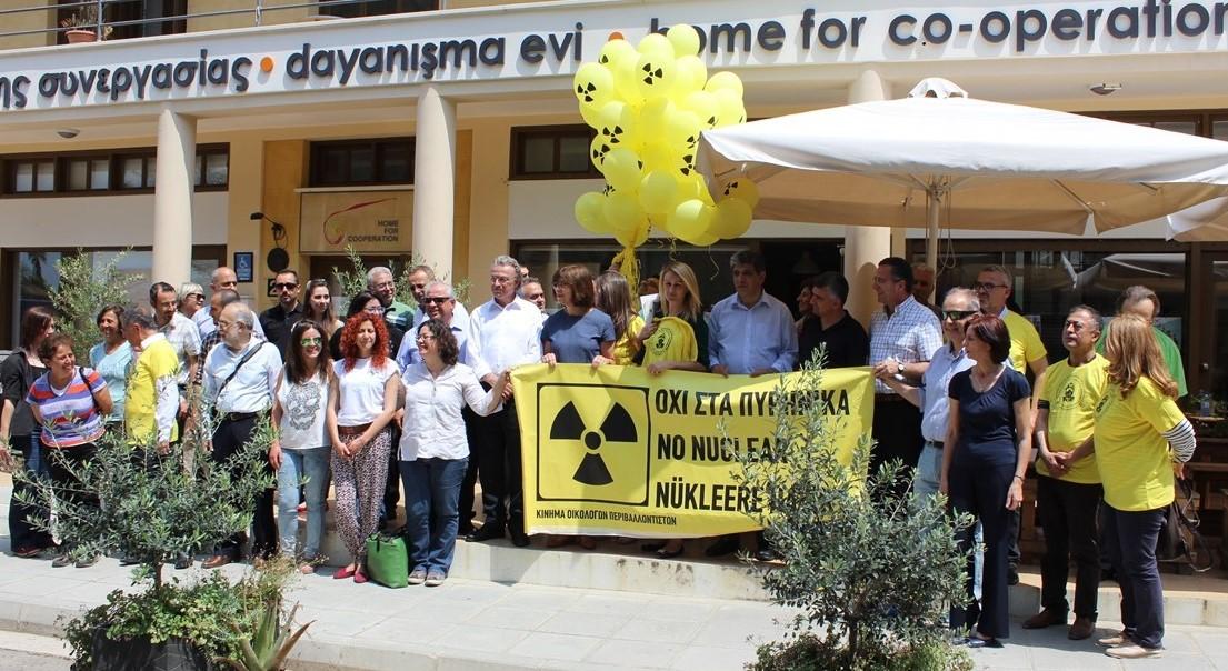 Nükleersiz Akdeniz Buluşması Kıbrıs Ara Bölge'de Gerçekleşti