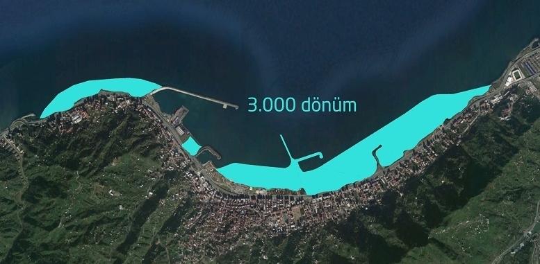 Karadeniz dolgu projeleriyle tükeniyor: Rize'de denizi kurutacak yeni proje