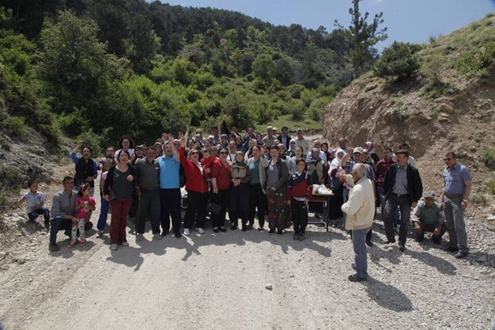 Mudurnu – Yeniceşıhlar Köyü Taş Ocakları'na Karşı Direniyor!