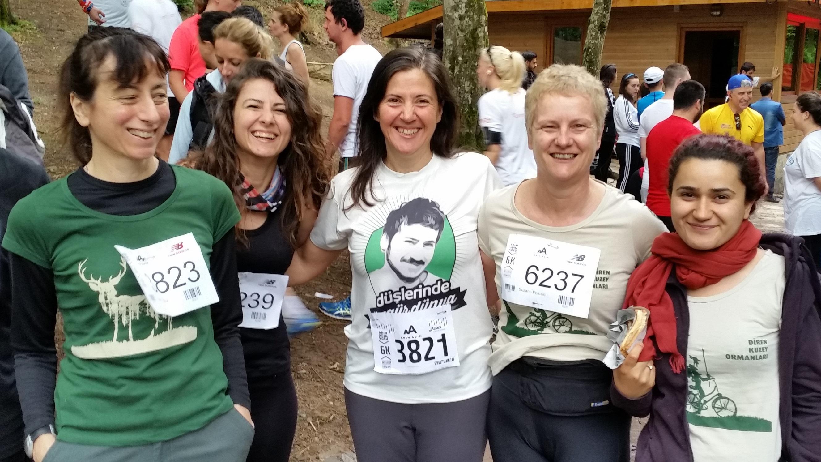 Kuzey Ormanları Savunması' ve  ' Hedef 60 dakika ama her zaman Toma ve Akrep' ten Hızlı' Belgrad Maratonu'ndaydı