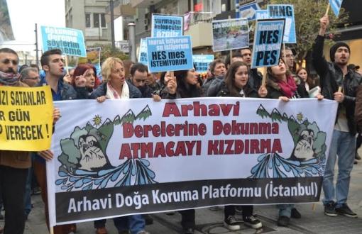 Arhavi'de 'Çılgın HES'in imar planı iptal edildi