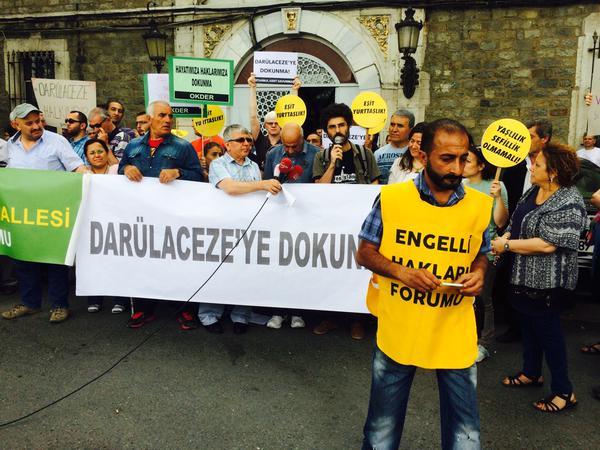 İstanbullular uyardı: Darülaceze'ye dokunma