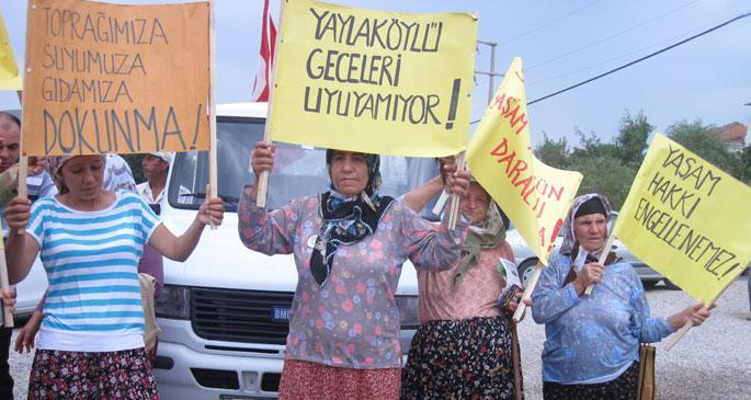 RESçi şirketten köylülere 15 milyon liralık zarar tebligatı