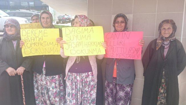 """Kaz Dağları Kadınları, """"Çırpılar'da termik santrale geçit yok"""""""