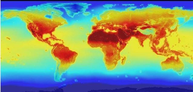 NASA: Yüzyılın sonunda 45 derecelik sıcaklık rutin hale gelecek