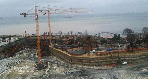 Ataköy 'Sea Pearl' inşaatında mühür savaşları