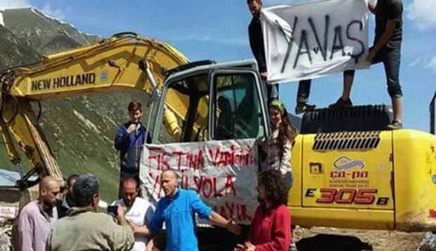 'Yayla otobanı' Yeşil Yol'a karşı hukuki süreç başladı: Fırtına Vadisi yoluna dava açıldı
