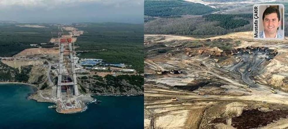 Anayasa Mahkemesi 3. köprü, 3. havaalanı gibi projeleri ÇED kapsamı dışına çıkaran Torba Yasa'yı iptal etti.
