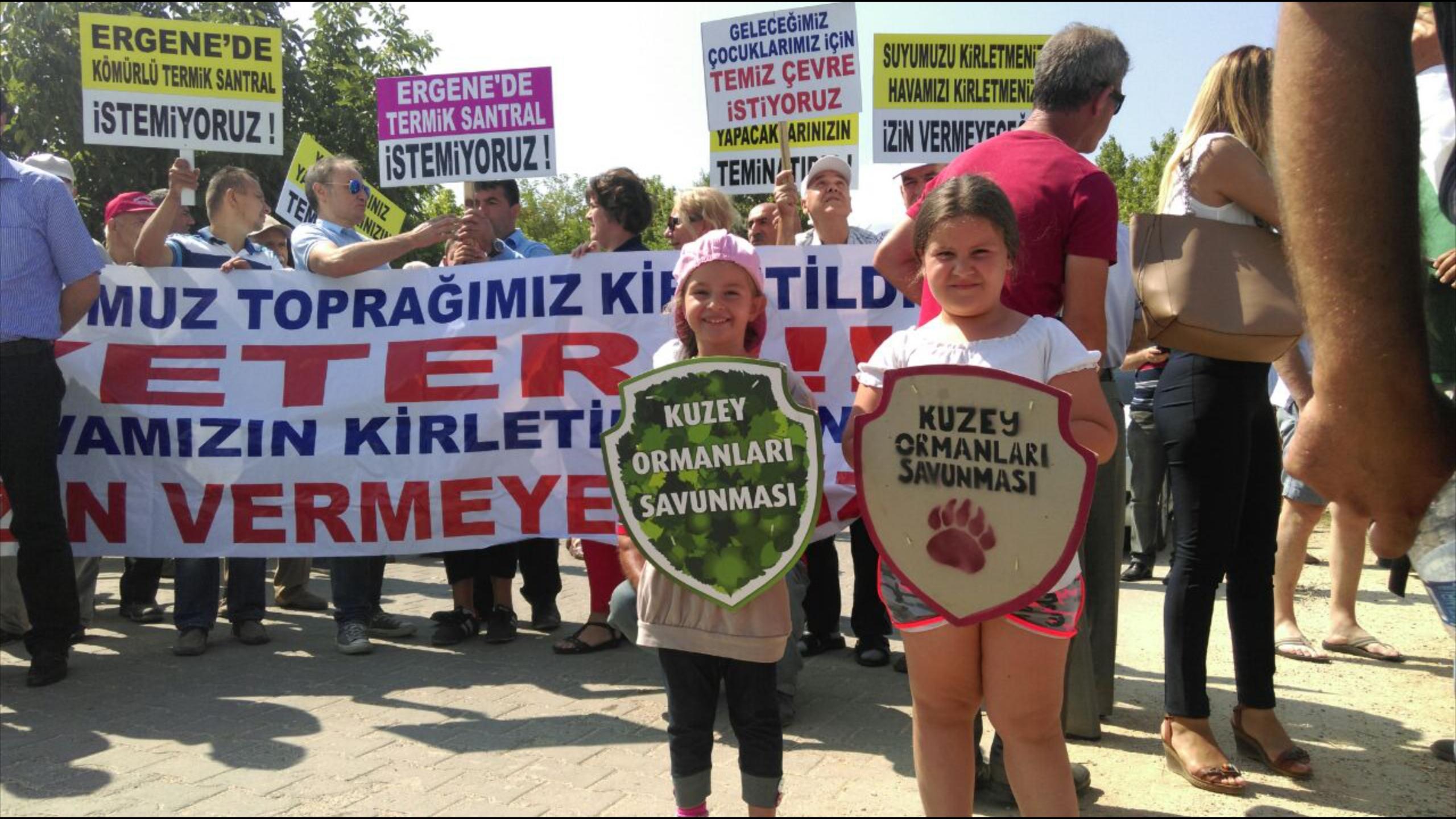 Kıyıköy'de boru hattı talanına yaşam savunucularından geçit yok!