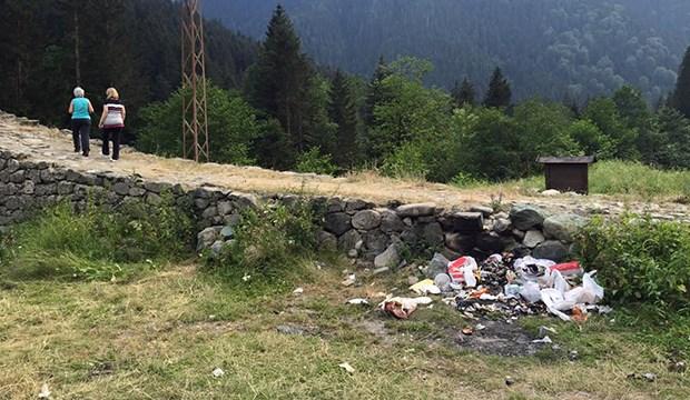 'Turizm cenneti' Ayder çöplüğe dönüşüyor