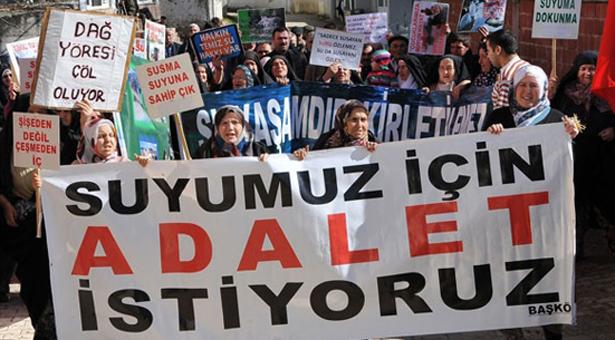 Bursa Başköy'de direniş kazandı: Mermer ocakları faaliyeti durduruldu
