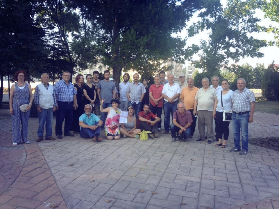 Bursa – İhsaniye Parkı'nda zafer yıkıma karşı direnenlerin!