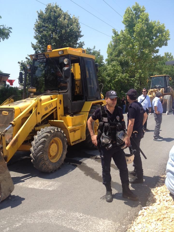 Bursa Kent Savunması 19.00'da İhsaniye Parkı'nı savunmaya çağırıyor!