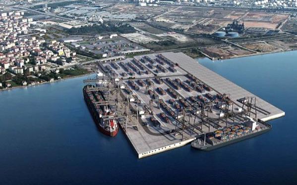 Mahkeme kararına rağmen süren 'Dubai Port' inşaatı AYM'ne taşınıyor