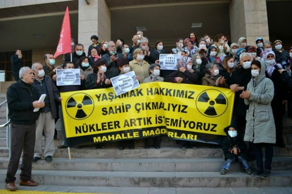 Gaziemir'deki nükleer bulaşıklı atıklarla ilgili suçlu bulunamadı