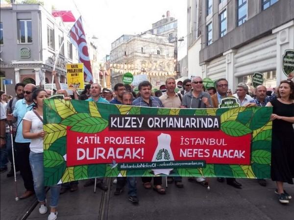 Yaşam alanı savunucuları: İstanbul'da mega projeleri yaptırmayacağız