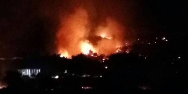 Diyarbakır yanıyor: Lice ve Kulp ilçelerinde eş zamanlı yangın