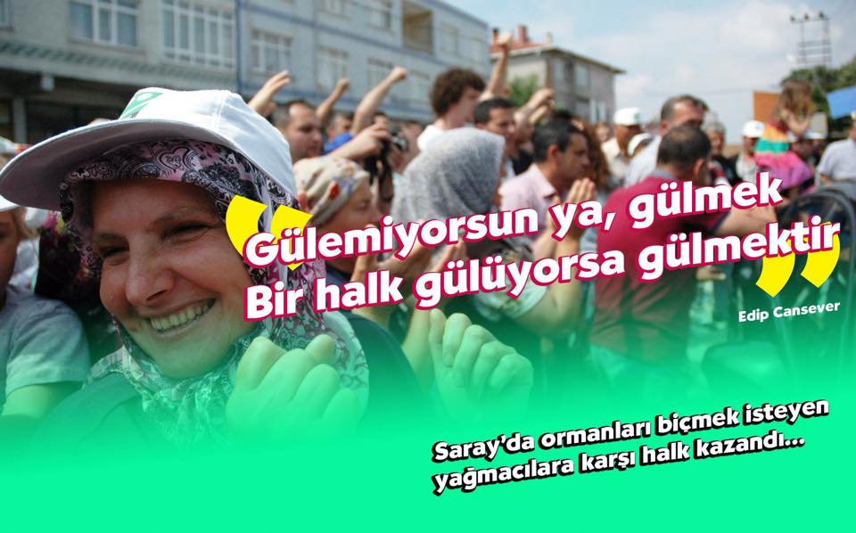 Ve Saray'da Yaşam Savunucuları'nın Zaferi: Kuvarsit'e Geçit Yok!
