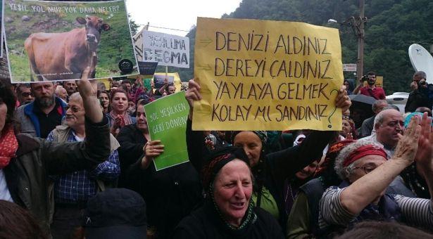 Yolun adı yeşil özü kara: 'Her yaylanın bekçisi olmaya devam edeceğiz!'