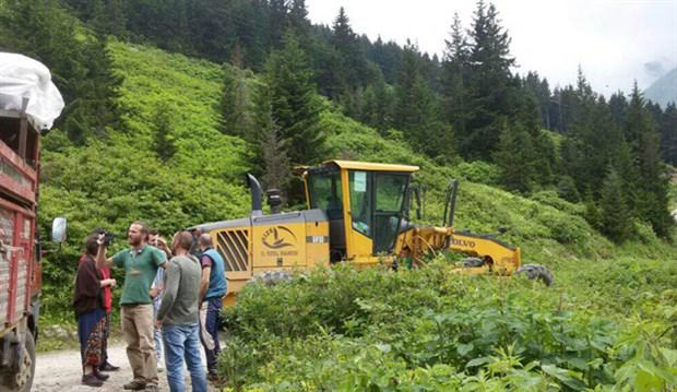 Samistal Yaylası'na yollar kapatıldı! Yeşil Yol nöbetindekilerden haber alınamıyor