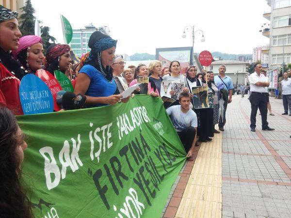 'Yeşil Yol'dan valiye mesaj: Buradan size zafer çıkmaz, gülünçleşmeyin