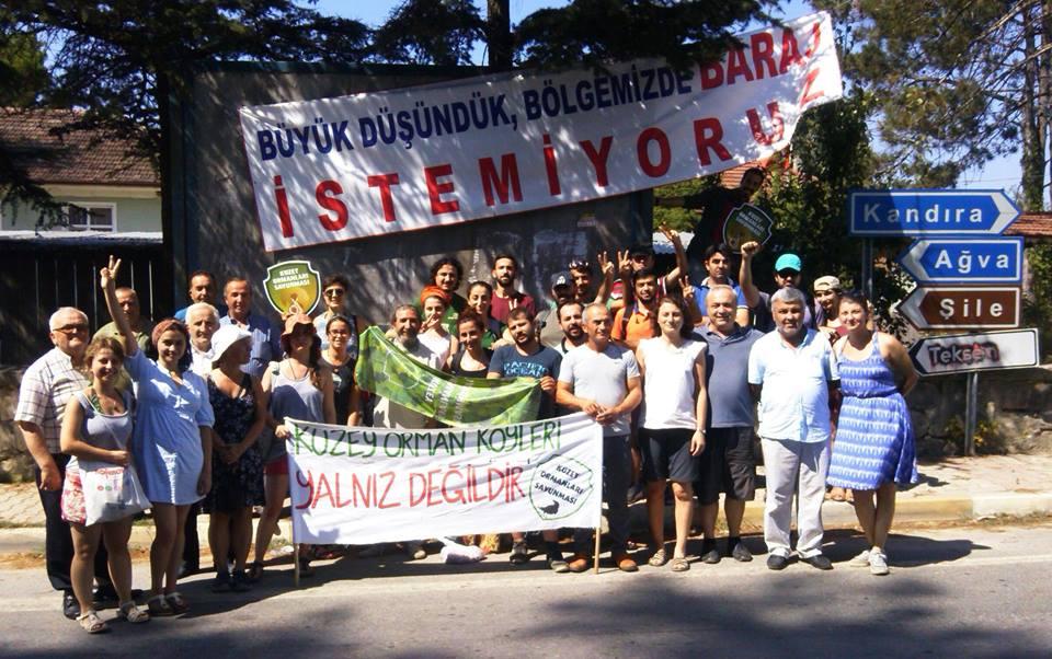 Kandıra'nın Suyunu, Köylerini İstanbul'un Mega Projelerine Feda Etmeyeceğiz!