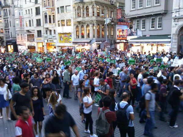 İstanbul, Hopa ile Dayanışmada