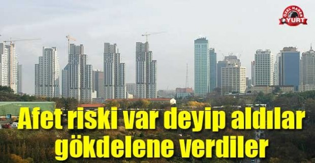 """Ataşehir'de sosyal konutları """"afet riski var"""" deyip aldılar, gökdelene verdiler"""