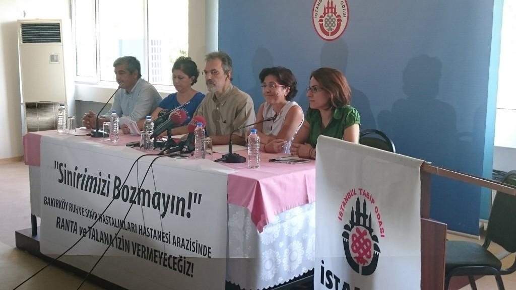 Bakırköy Ruh ve Sinir Hastalıkları Hastanesi'nin tahliyesine tepki: 'Sinirimizi bozmayın'