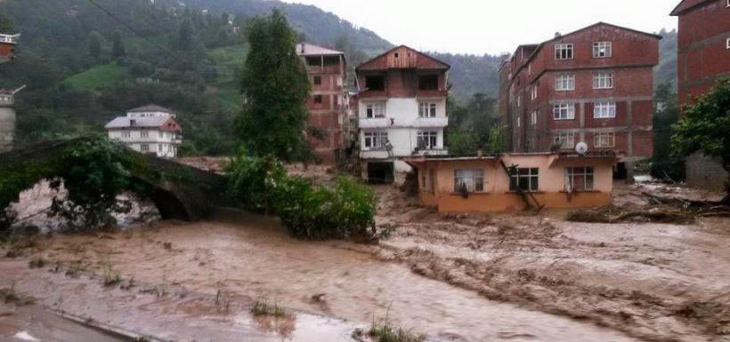 Hopa'da yaşanan: Bu bir sel felaketi değil!