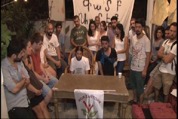 Kamp Armen nöbetinin 100. gününde gönüllülere sopalı ve yumruklu saldırı