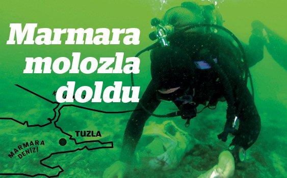 Göz göre göre çevre katliamı: İstanbul'un molozları Marmara'ya doldu
