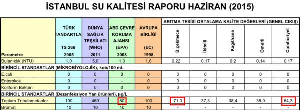 İstanbul'un musluk suları neden kokuyor?