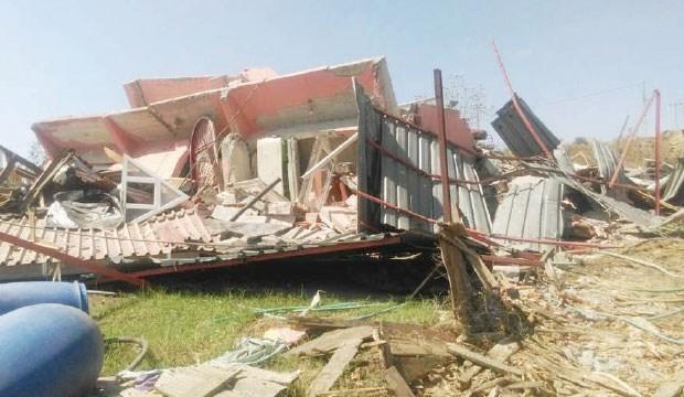 """TOKİ ikna edemediği yurttaşın evini """"devlet biziz"""" diyerek yıktı"""