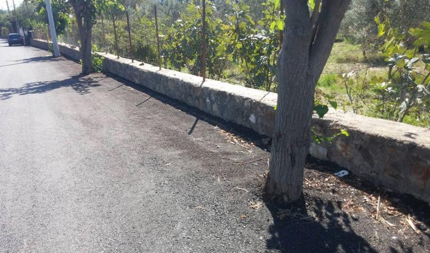 İşte Hizmet: Belediye 'Ağaçları' Asfaltladı