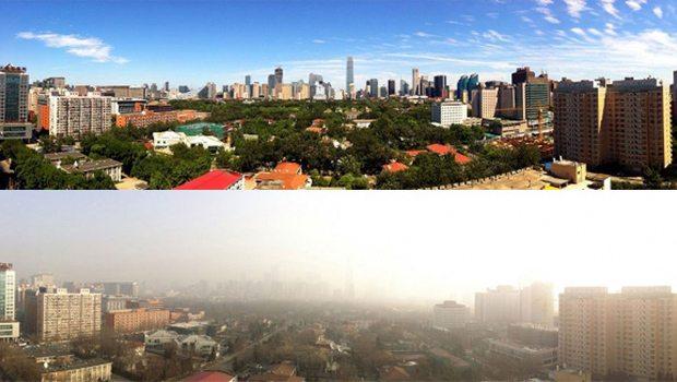 Çin'de 2.5 milyon araca yasak geldi, mavi gökyüzü ortaya çıktı