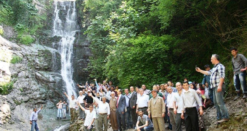 Köylülerin taş ocağına karşı mücadelesi orman ve şelaleleri kurtardı