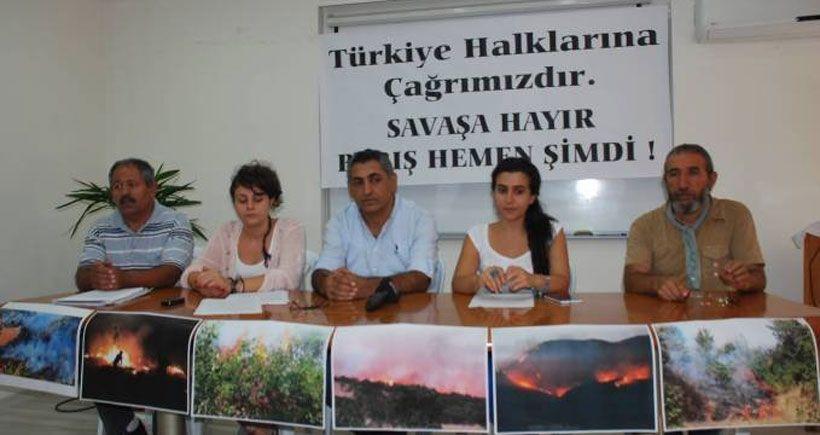 Yaşam savunucuları: Yaşam alanı mücadelesini barış için de yürüteceğiz
