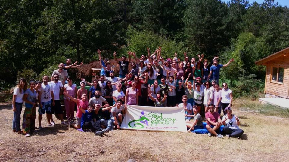Türkiye'nin ilk ekolojik okuryazarlık projesinin gençlik kampı Bayramiç'te gerçekleşti