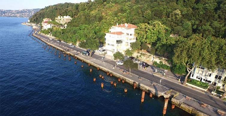 İBB Boğaz'ı betonlanmaya doymuyor: Çubuklu – Kanlıca sahil yolu genişliyor